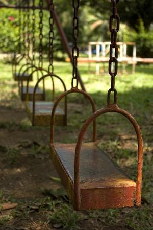 swing seat: sede di svolgimento nel parco