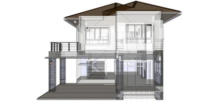 3D Casa Archivio Fotografico - 29199442