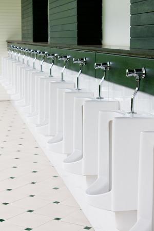 Outside Urinal Stock Photo