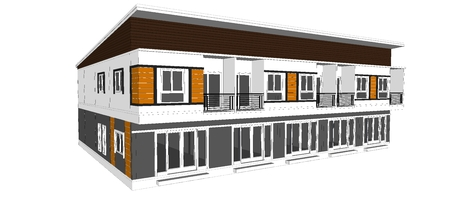Construction design room style living in Thailand  photo