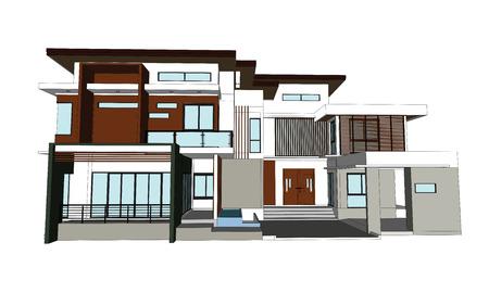 Drawings design houses