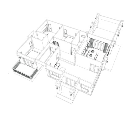 furniture design: Drawings, design houses and furniture.
