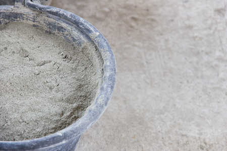 gyan: Cement powdered used in construction Stock Photo