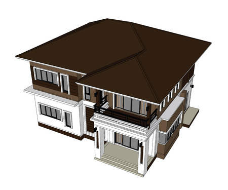 home design: Drawings, 3D Home design construction