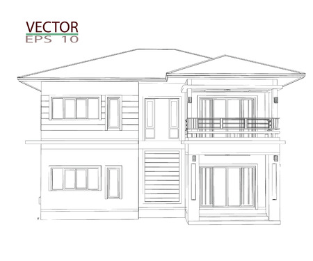 Drawings, 3D Home Design Construction Photo