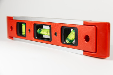 indicative: equipment accuracy water level red color construction tool