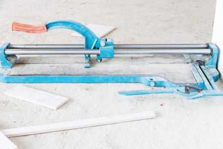 tile cutter: industry construction builder work tile cutter tool