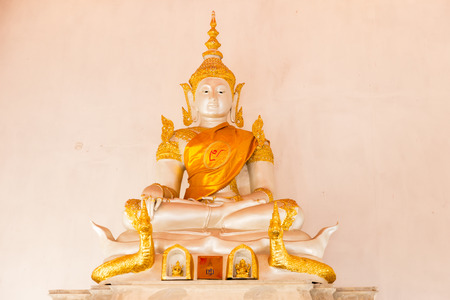 UDONTHANI, THAILAND - February 12, 2017 : Wat Sa Mani Buddha  temple Ban Phak Top, Nong Han District, Udon Thani, Thailand.