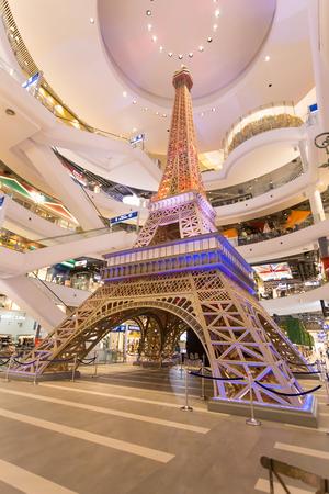 korat: NAKHONRATCHASIMA, THAILAND - JUNE 30, 2017: Terminal 21 korat Shopping and Entertainment Center NAKHONRATCHASIMA THAILAND.