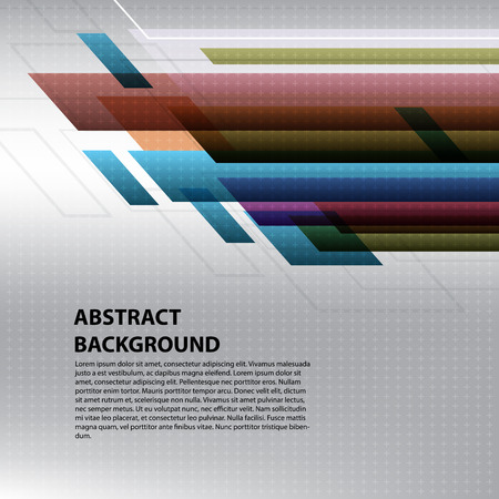 Abstract background colorful graphic design geometric vector Ilustracja