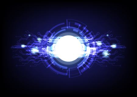 Abstract background graphic design digital technology  vector Ilustracja