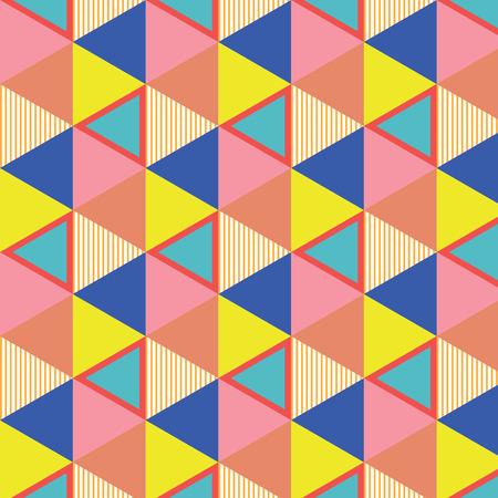 Seamless background texture with vector Geometric Pettern Ilustracja