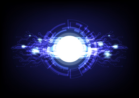 Futuristic graphic design digital technology