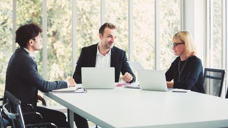 Business team working at modern office Reklamní fotografie