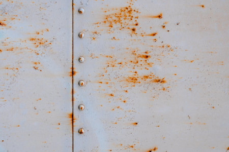 Abstract background steel sheet with rust,Train wall old and rusted Imagens