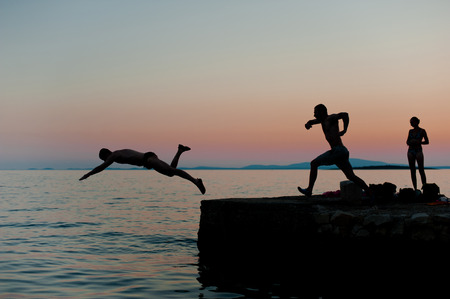 splurge: Jumping into the sea