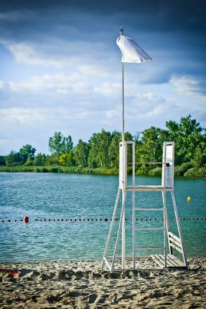 Lifeguard tower photo