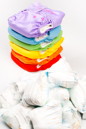 washable: Eco friendly diapers and dirty diapers