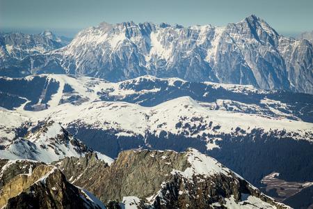 Beautiful view from Kitzsteinhorn ski resort photo