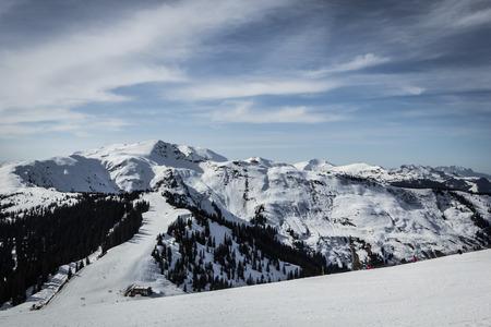 slope: Alpine ski slope