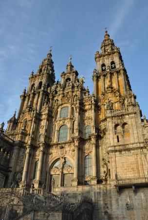 galicia:  Cathedral of Santiago de Compostela  Spain