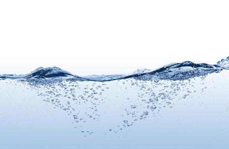 agua splash: Salpicaduras de agua Foto de archivo