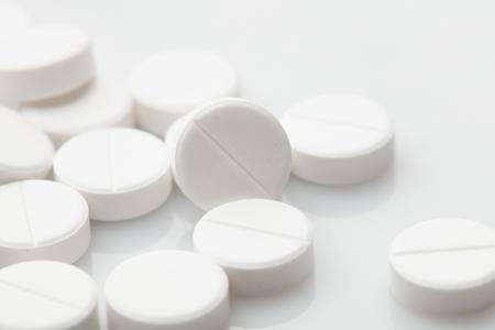 Pill and tablets, medicine isolated. Drug. Healthcare. Pharmaceutics. pharmacy. Stock Photo