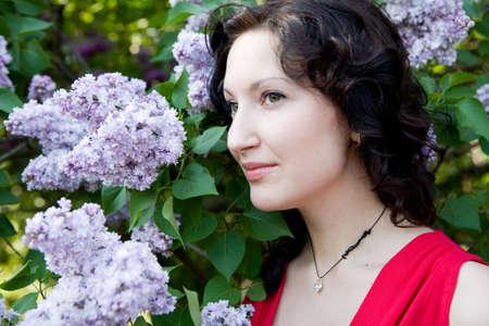 beautifull woman: young beautifull woman in the garden (summer)