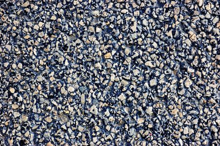Asphalt texture, detailed tarmac close-up photo