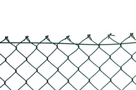 netting: Nieuwe beveiligings draad hek, geïsoleerd