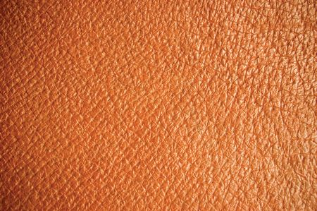 seamless leather: Brown leather texture, wide macro, suitable as a background, etc. Stock Photo