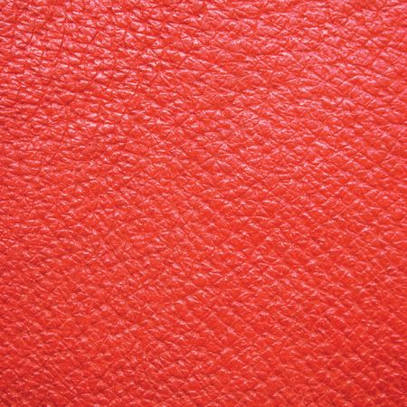 Red leather texture, wide macro, suitable as a background, etc. Stock Photo - 6345076