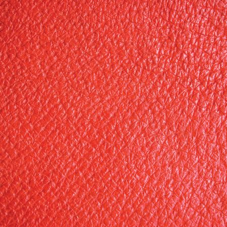 Red leather texture, wide macro, suitable as a background, etc. photo