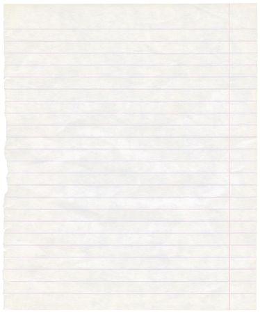 Sola hoja de textura de fondo de papel de viejo grungy nota