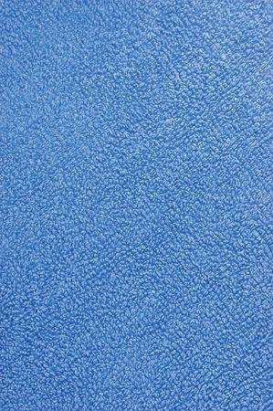 turkish bath: Blue plush terry cloth turkish bath towel, macro background closeup Stock Photo