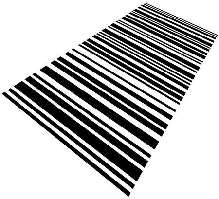 Large Barcode Background Macro Closeup, Isolated On White photo