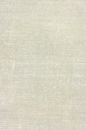 Fondo de textura de arpillera de lino vintage natural de bronceado, beige, amarillento, gris