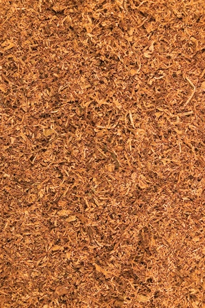 tobacco plants: Cut Pipe Tobacco Texture Background, Macro Closeup Stock Photo