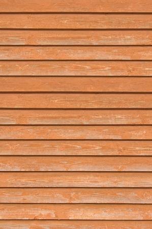 Natural antigua valla de madera planchas, madera cerrar la textura de la Junta, dise�o de fondo de terracota de luz closeboard marr�n rojizo superpuestas Foto de archivo