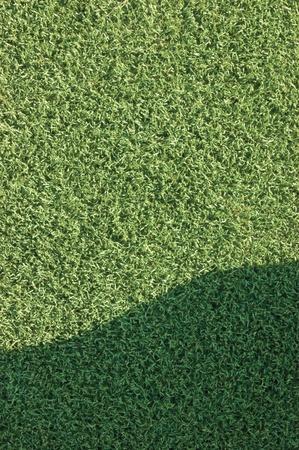 false shamrock: Artificial grass with a shade Stock Photo