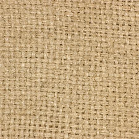 Macro van natuurlijke textuur jute zak jute textuur koffiezak, licht land ontslaan doek, macro achtergrond Stockfoto