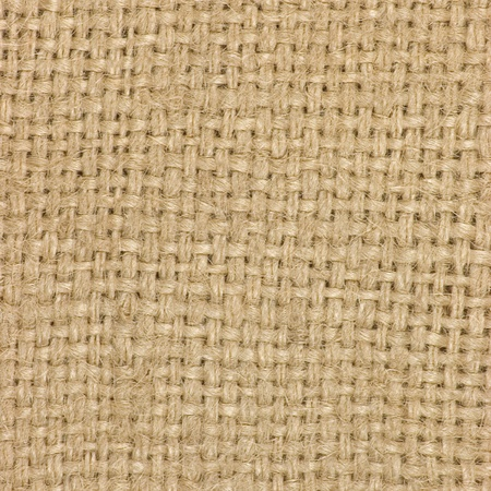Natural textured burlap sackcloth hessian texture coffee sack, light country sacking canvas, macro background photo