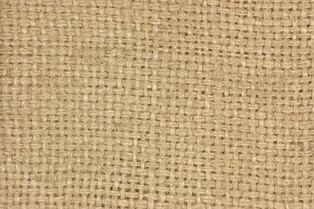 Natural textured burlap sackcloth hessian texture coffee sack, light country sacking canvas, macro background photo