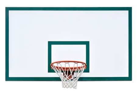Basketball hoop cage photo