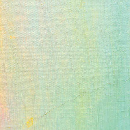 ultramarine: Oil paint background, bright ultramarine blue, yellow, pink, turquoise, large brush strokes painting detailed textured pastel colors macro closeup, vertical texture pattern, old aged scratched canvas