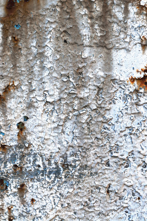 Old aged weathered grunge rust color-peel rusty metal texture photo
