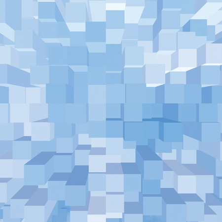 vertical bars: Bright Abstract Geometric Square 3D Diagram Bar Bricks Pattern, Vertical Perspective Wallpaper Background, Sky Blue Key, Large Detailed Bars Texture Macro Closeup, Gentle Shadows