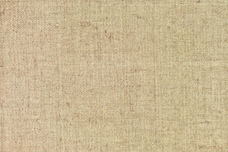 Natural textured horizontal grunge burlap sackcloth hessian sack texture, grungy vintage country sacking canvas, large detailed bright beige pattern macro background closeup