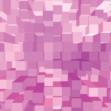 vertical bars: Bright Abstract Pink Geometric Square 3D Diagram Bar Bricks Pattern, Vertical Perspective Wallpaper Background, Large Detailed Bars Texture Macro Closeup, Gentle Shadows Stock Photo