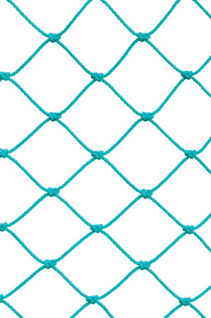 hockey games: Soccer Football Goal Post Set Net Rope Detail, New Green Goalnet Netting Ropes Knots Pattern, Vertical Macro Closeup, Isolated Large Detailed Blank Empty Copy Space Background